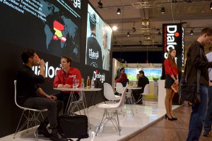Dialoga stand at CCW in Berlin