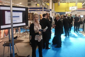 Dialoga Stand at Call Centre Customer Management in Birmingham