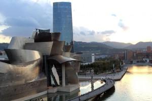 Guggenheim Museum and Iberdrola Tower