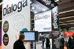 Dialoga Stand at IP Convergence in Paris