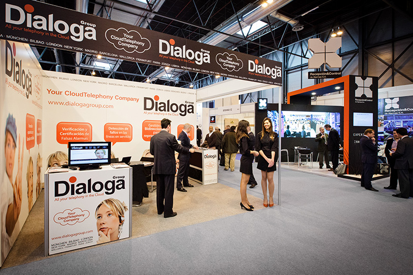 Dialoga Stand at SICUR in Madrid