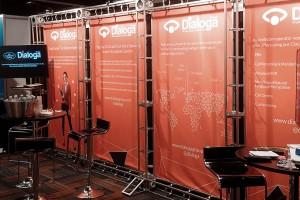 Dialoga stand at International Telecoms Week 2016