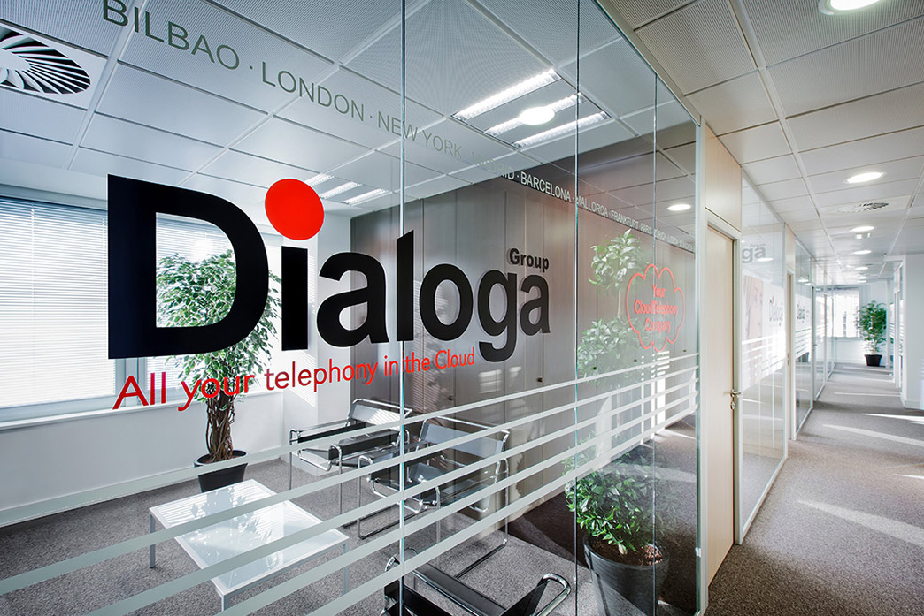 Dialoga Group office in Madrid (Spain)