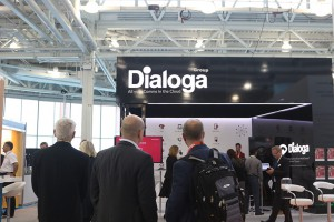 Dialoga Group Stand at Customer Contact Expo 2016, London