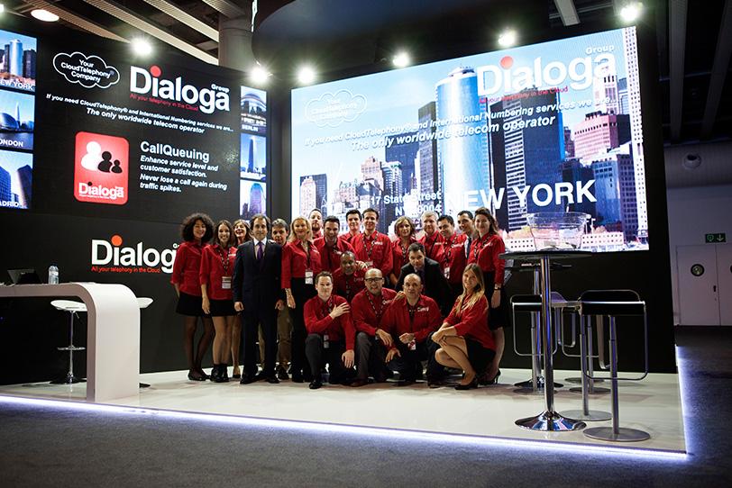 MWC Barcelona 2015-01- Veranstaltungen - Dialoga