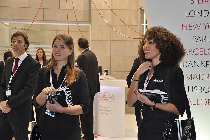 MWC Barcelona 2013-04- Veranstaltungen - Dialoga