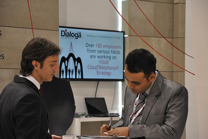 MWC Barcelona 2013-11- Veranstaltungen - Dialoga
