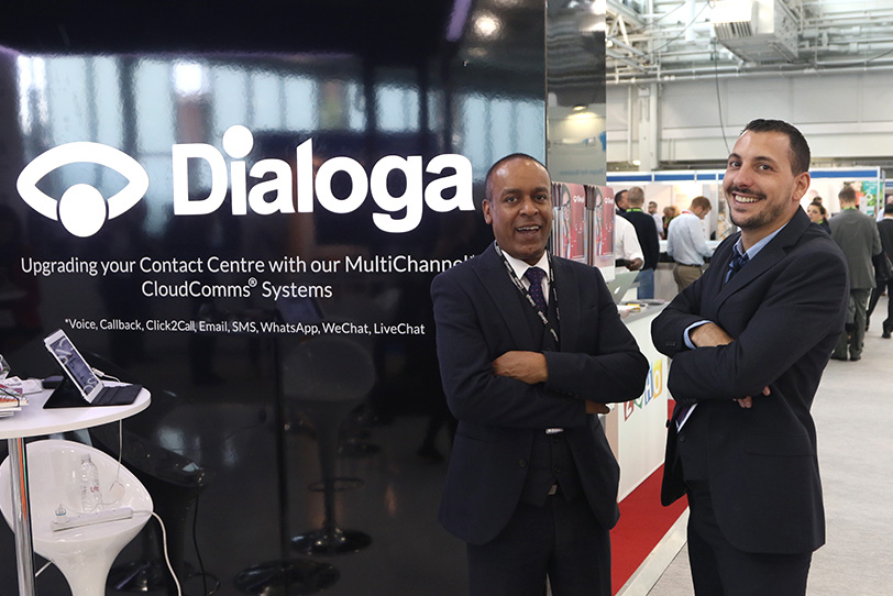 Customer Contact Expo Londres-8 2016 - Événements - Dialoga