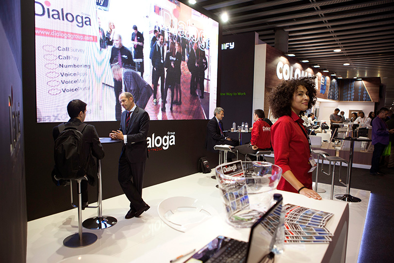 Mobile World Congress Barcelona-14 2015 - Eventos - Dialoga