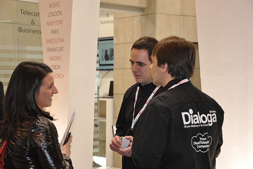 Mobile World Congress Barcelona-6 2013 - Eventos - Dialoga