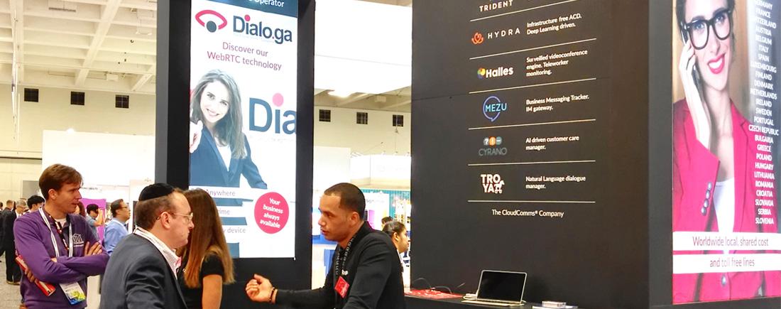 Dialo.ga war Teilnehmer des ersten Mobile World Congresses in Amerika - News - Dialoga