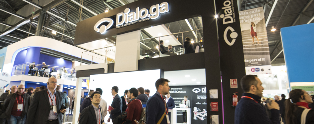 Dialoga präsentiert seine Innovationen für Contact Center auf dem Mobile World Congress 2018