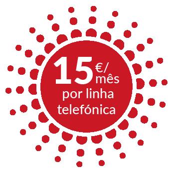 15€ / mês por linha telefónica - Sword, linha WebRTC - Dialoga